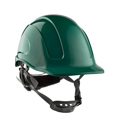 casco-steelpro-montaña-abs-verde