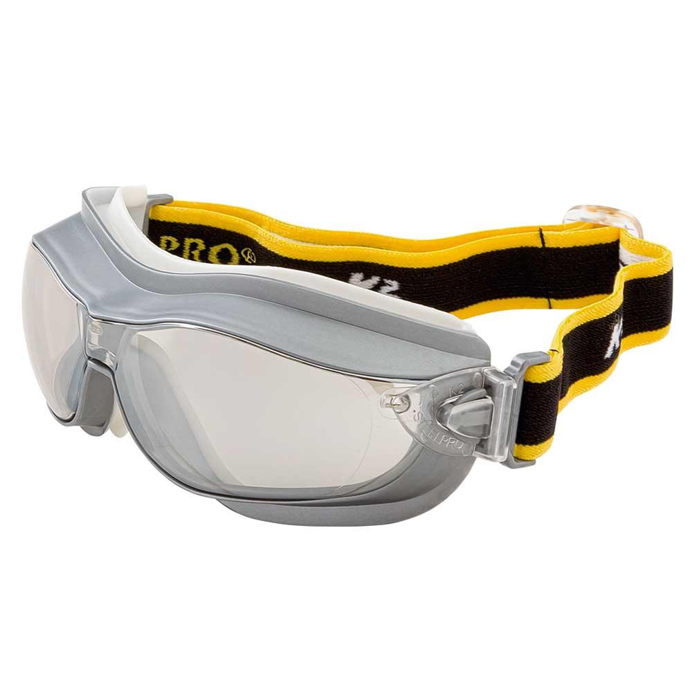 S/&R Gafas de Proteccion y Seguridad Trabajo Lentes de policarbonato anti-UV y Anti-rasgu/ños. 2 Pares con proteccion lateral